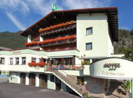 Hotel Edelweiss, hotell i Pfunds