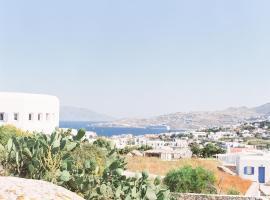 Aether Boutique Stay, hotel in zona Aeroporto di Mykonos - JMK, Glastros