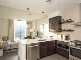 Luxury Downtown Asheville Condo with Mountain Views at Arras Residences Unit 1001, apartment in Asheville
