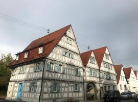 Historik Hotel Ochsen, hotel near MHP Arena Ludwigsburg, Tamm