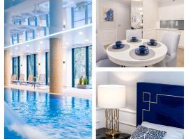 FARO Apartamenty Nadmorskie Tarasy SPA Deluxe przy Latarni Morskiej – hotel w pobliżu miejsca Molo w Kołobrzegu w Kołobrzegu