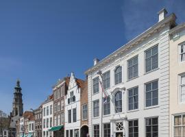 Boutique Hotel De Vier Patriciërs, B&B in Middelburg