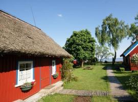 Authentic fisherman's house with sea view, viešbutis mieste Preila