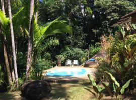 Sitio Jardim dos Colibris, holiday home in Paraty