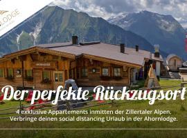Ahornlodge, lodge in Mayrhofen