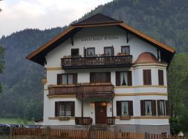 Gästehaus Ethiko, ski resort in Ettal