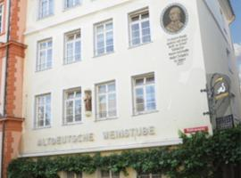 Historisches Hotel Schwan, отель в Майнце