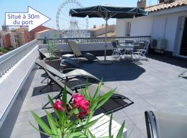 Brit Hotel Opal Centre Port, hotel near Le Cap d'Agde International Golf Course, Cap d'Agde