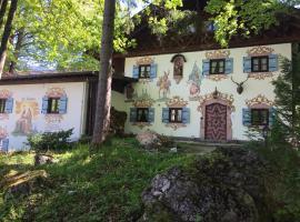 St. Anton, family hotel in Grainau