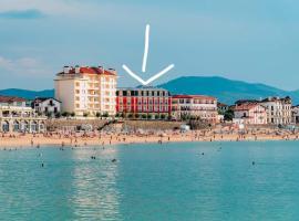 Duplex pied de plage, hôtel à Saint-Jean-de-Luz