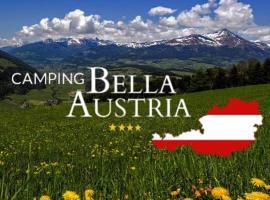 Camping Bella Austria, hotel Sankt Peter am Kammersbergben
