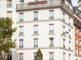 Hôtel de la Place des Alpes, hotel near Porte d'Ivry Metro Station, Paris