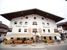 Gasthof Aigner ***, inn in Fügen