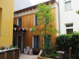 Ferienwohnung im Hinterhaus, hotel near Steintor-Varieté, Halle an der Saale