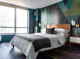 Luxe Mag Mile 2BR with City View by Zencity, apartment in Chicago