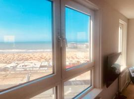 Luxury Beach Front Apartment, budget hotel in Scheveningen