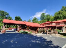 Smoky Falls Lodge, hotel near Harrah's Casino, Maggie Valley