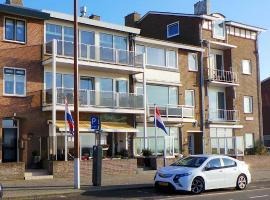 Hotel B&B Seahorse, beach hotel in Katwijk