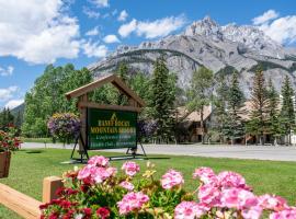 Banff Rocky Mountain Resort, hotel in Banff
