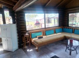 Unique Stone and Wood Eco house, hotel near Avdera Excavation Site, Tragasiá