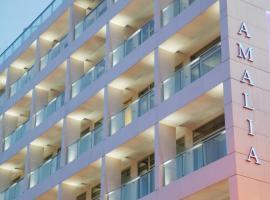 Amalia Hotel, hotel Athénben
