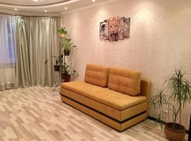 Двухкомнатные апартаменты на Талсинской, family hotel in Shchelkovo