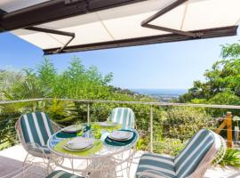 Independant Appartment - Beautiful Sea View and peaceful - Near Cannes, golf hotel in Mandelieu-La Napoule