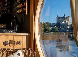 Loire Evasion - Bateau Ecolodge Le Martin Pêcheur, boat in Saumur