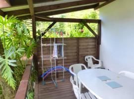 Appartement de 2 chambres a Les Anses d'Arlet avec magnifique vue sur la mer jardin amenage et WiFi a 500 m de la plage, Ferienwohnung in Les Anses-d'Arlets
