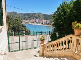 Panoramic Apartment in Villa on The Beach, In Center, pet-friendly hotel in Agropoli
