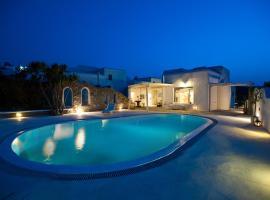 Beautiful Villa Ftelia, villa in Mykonos