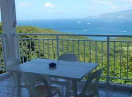 Studio a Les Anses d'Arlet avec balcon amenage et WiFi a 4 km de la plage, Ferienwohnung in Les Anses-d'Arlets