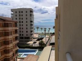 Apartment with 3 bedrooms in Benicassim with wonderful sea view terrace and WiFi 350 m from the beach, pet-friendly hotel in Benicàssim