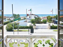Hotel Poseidon, hotell i Marina di Pietrasanta