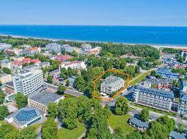 Villa Arstone, hotel with jacuzzis in Świnoujście