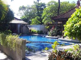 Studio in Kota Denpasar with shared pool furnished terrace and WiFi 300 m from the beach, apartment in Sanur