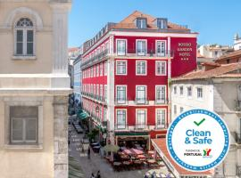 Rossio Garden Hotel, accessible hotel in Lisbon