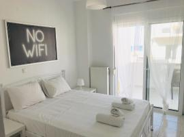 Korona beach apartments-sea view suite, pet-friendly hotel in Rethymno Town