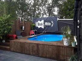 Black & White Sensation, spa hotel in Nederbrakel