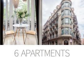 El Alma de las Ramblas, apartment sa Barcelona