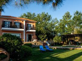 AR apartment, villa in Platanidia