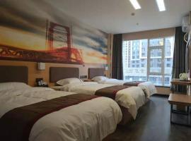 Thank Inn Chain Hotel Lanzhou Chengguan District Jiaojiawan Subway Station, отель в городе Ланьчжоу