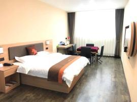 JUN Hotels Hebei Langfang Guangyang Wanzhuang Town Wancai Road, hotel in Langfang