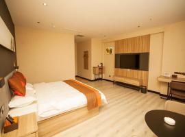 JUN Hotels Hebei Shijiazhuang Wuji County Zhengyi Street Store, отель в Шицзячжуане