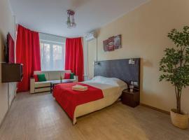 Apartment Hanaka Baikalskaya 18, hotel in Moscow