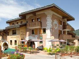 Hôtel du Bourg, hôtel à Valmorel