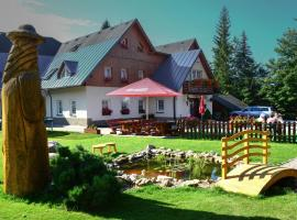 hotel Rýdl, hotel near Kamienczyka Waterfall, Harrachov