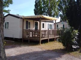 MOBILE HOME 6 PERSONNES, campground in Vic-la-Gardiole