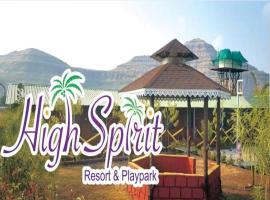High Spirit Resort and Playpark, hotel in Wai
