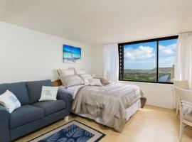 Sweeping Views Premium Suite Paradise Hotel, serviced apartment in Honolulu